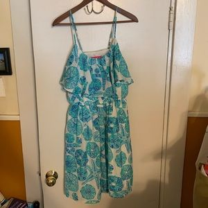 Blue sand dollar Lilly Pulitzer for Target dress
